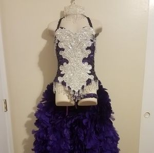 Vegas Showgirls outfit CUSTOM
